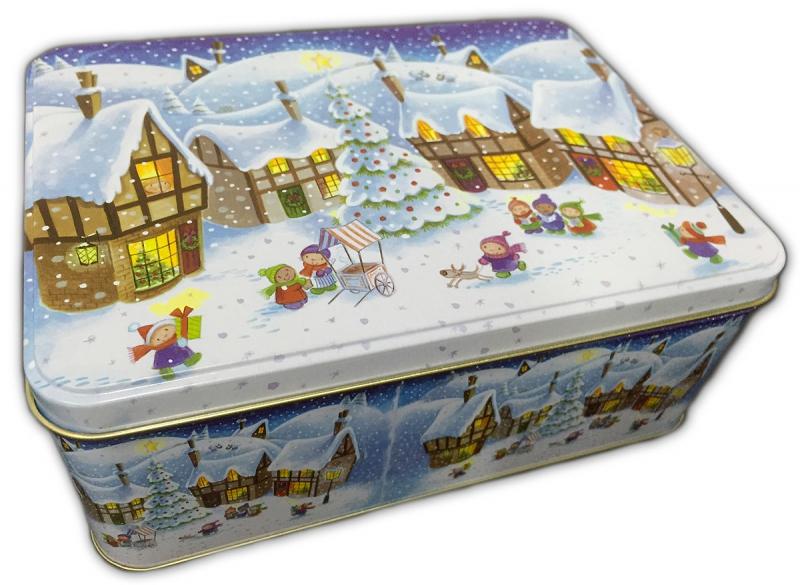 weihnachts geschenk box gro naschplatz gummib rchen. Black Bedroom Furniture Sets. Home Design Ideas
