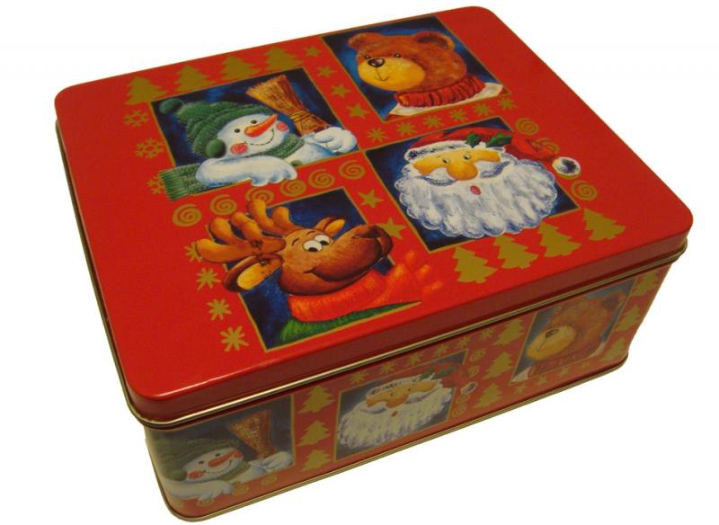 weihnachts geschenk box mittel naschplatz gummib rchen. Black Bedroom Furniture Sets. Home Design Ideas