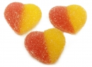 Sour Gummi Peach Hearts